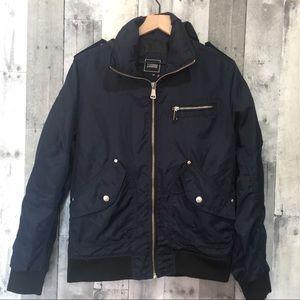 Foreign Exchange Dark Blue Medium Jacket